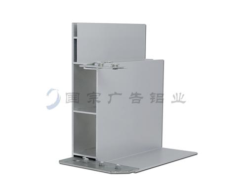 15分工程卡布灯箱铝材 GK1500