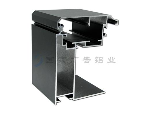 12分拉布广告灯箱铝材 W-L123AB