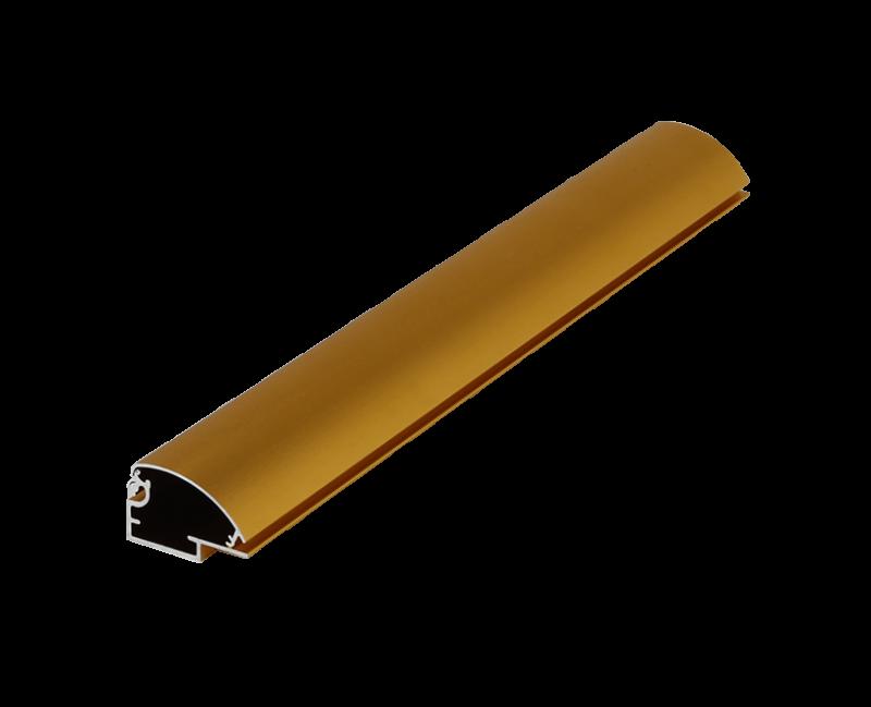 金色灯箱铝材