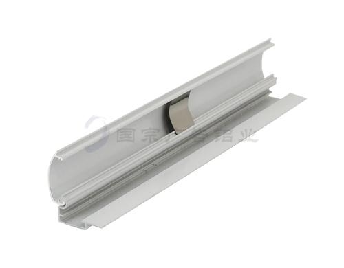 电泳白灯箱铝材